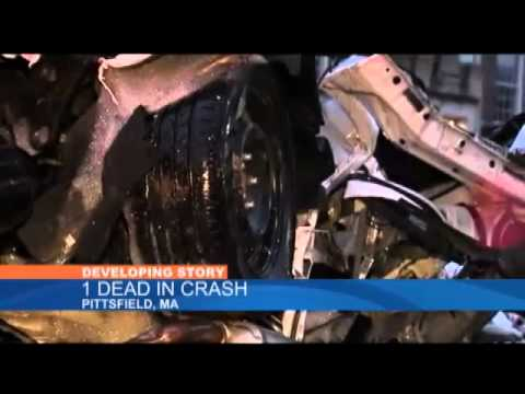 2 dead after car crashes outside Pittsfield school