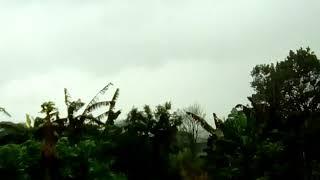 Chuva forte em Guaraci (PR)