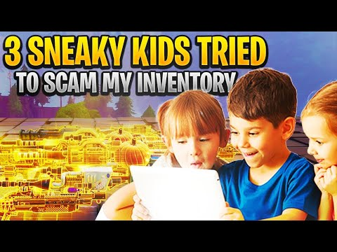 Three RICHEST Scammers LOST WHOLE INVENTORY! (Scammer Get Scammed) Fortnite Save The World