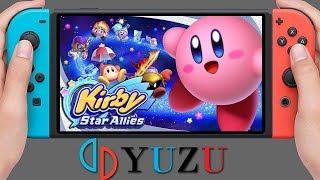 Yuzu Canary [Switch Emulator] - Kirby Star Allies [HD-Gameplay] v1.0.4199. OpenGL #2