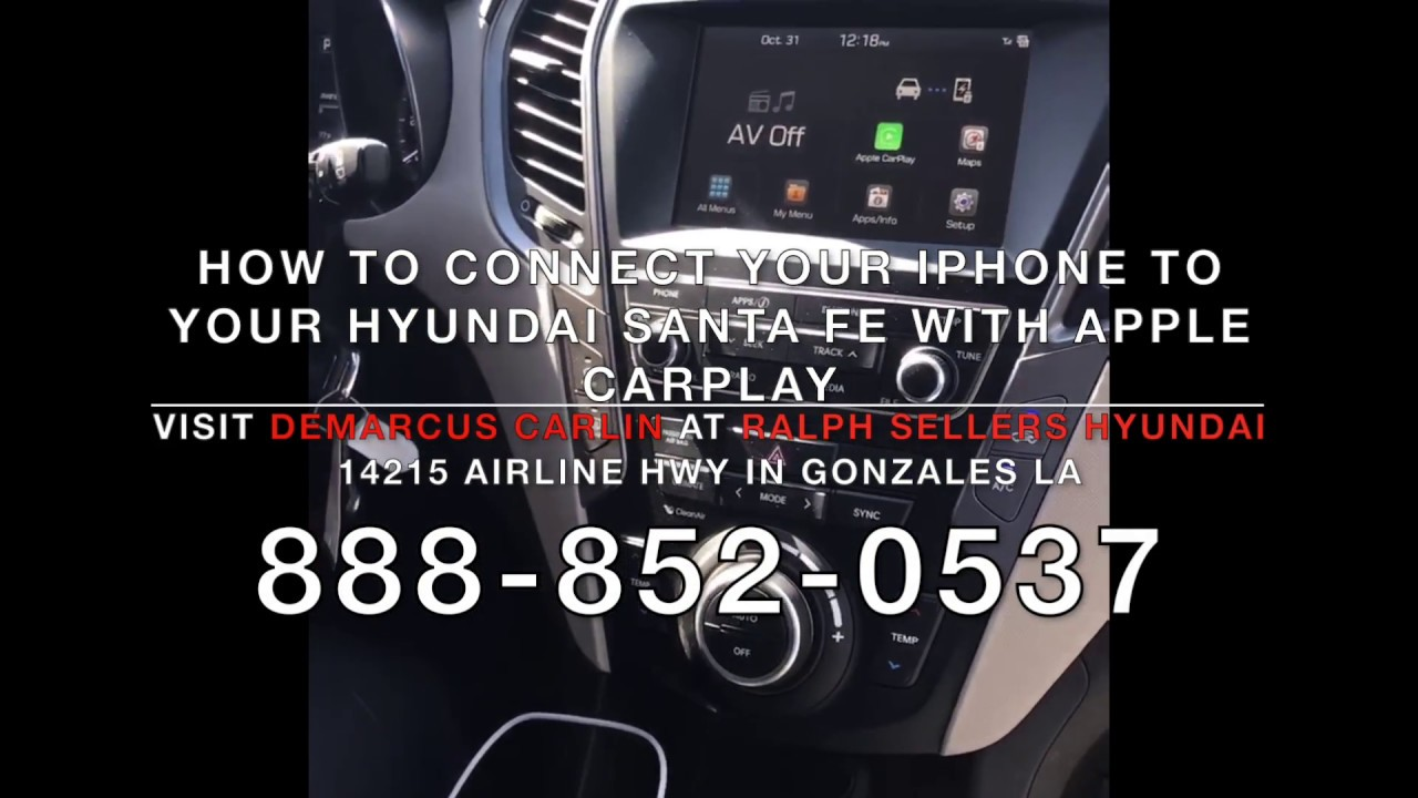 How to connect your iPhone's Apple CarPlay feature with your New