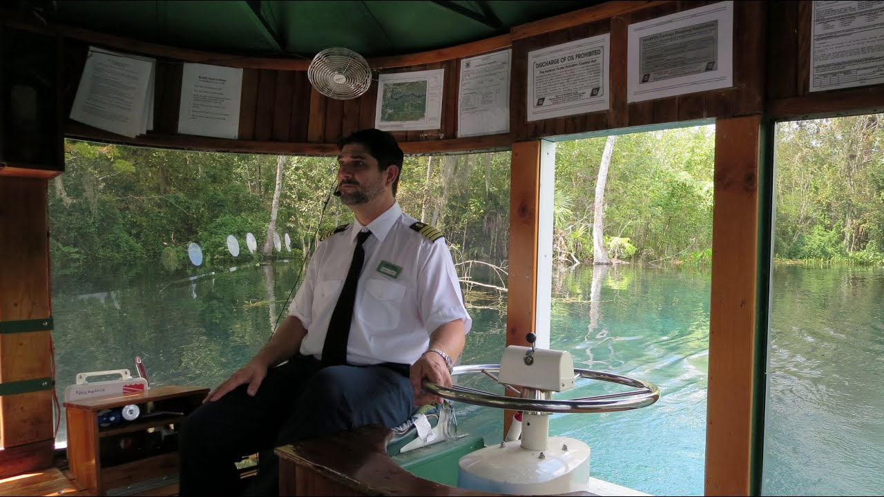 Silver Springs State Park Glass Bottom Boat Ride   YouTube