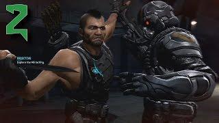 Turok (2008) Inhuman difficulty walkthrough (Bad Blood) part 2 (HD)