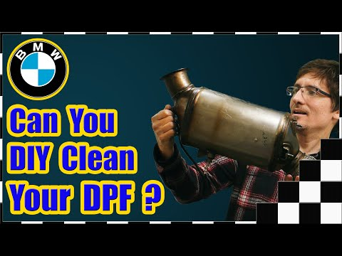 Can You DIY Clean Your BMW DPF (Diesel Particulate Filter)?