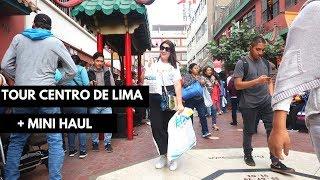 TOUR CENTRO DE LIMA (MIS TIENDAS FAVORITAS) + MINI HAUL l URBAN INSIDE