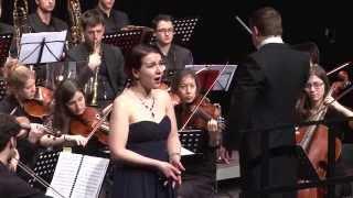 Vincenzo Bellini - Casta Diva (Norma) - Frascati Symphonic With Olga Vilenskaia