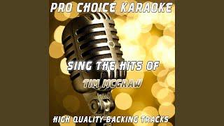 When the Stars Go Blue (Karaoke Version) (Originally Performed By Tim McGraw)