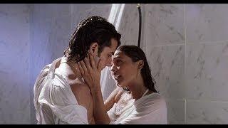 Saif & Namrata Shirodkar Under Shower   Kachche Dhaage Movie Scene