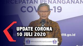 Update Corona 10 Juli 2020: 72.347 Positif, 33.529 Sembuh, 3.469 Meninggal Dunia.