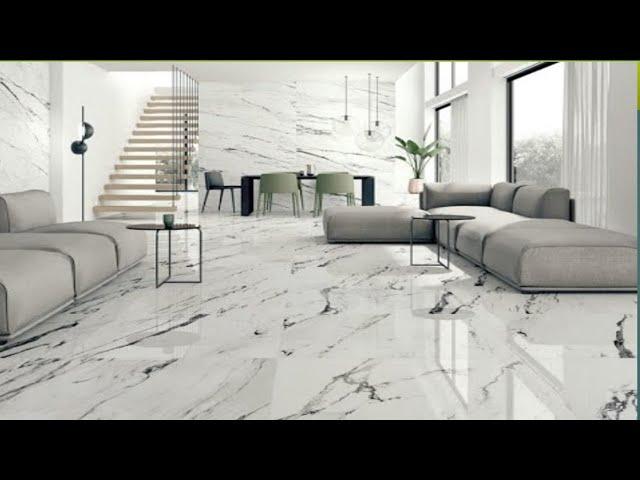 تشكلية جديده من ارضيات البروسلين الابيض والاسود واللامع New Porcelain Flooring 2021 Youtube