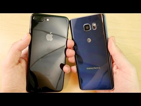 iPhone 7 plus vs Galaxy Note 5?