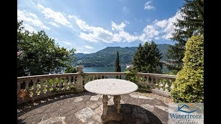 Lake Como Historic Villa For Sale