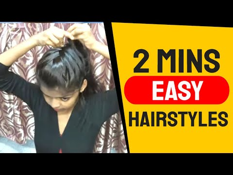 4-very-simple-&-easy-self-hairstyle-for-girl's.-2-mins-easy-hairstyles-for-office/college.
