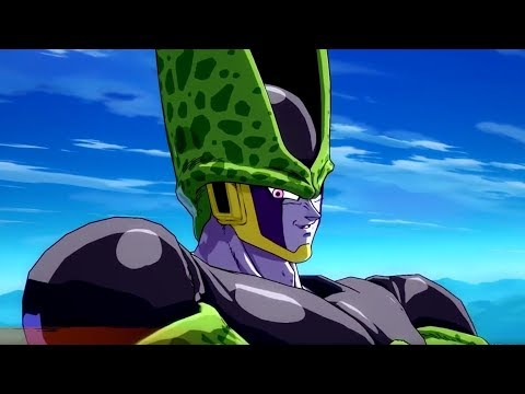 Dragon Ball FighterZ - All Cell SAVAGE Scenes