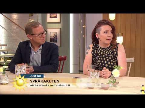 Därför är det så svårt att lära sig svenska - Nyhetsmorgon (TV4)