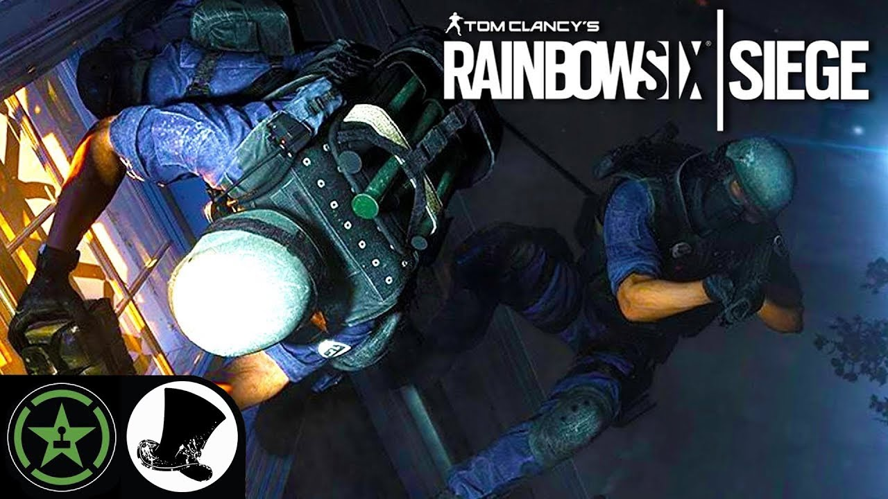 Cover Everything in Gu - Rainbow Six: Siege - (Round 1) | Let's Play