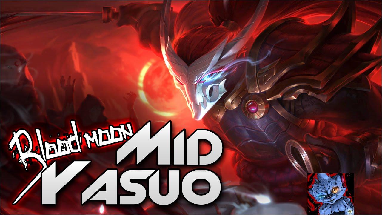League of legends blood moon yasuo mid vs zed full - Blood moon zed ...
