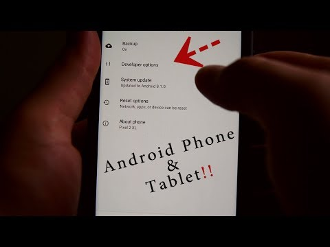 How To Enable Developer Options PHONE OR TABLET