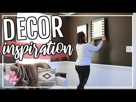DECORATE WITH ME 2019 | HOW TO DECORATE A ROOM ON A BUDGET! | Page Danielle