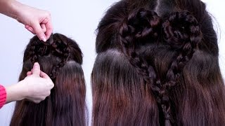 Heart Braid Tutorial - BecomeGorgeous.com