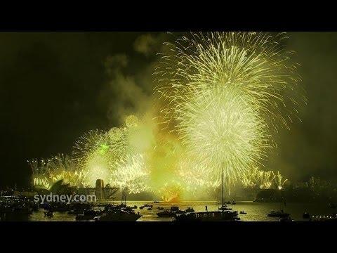 Sparkling Sydney kicks off global 2014 party