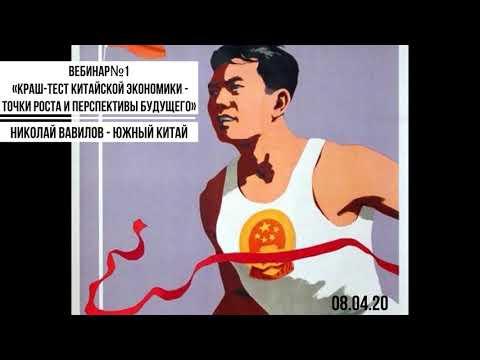 Николай Вавилов «Краш-тест китайской экономики - точки роста и перспективы будущего» (8.04.2020)