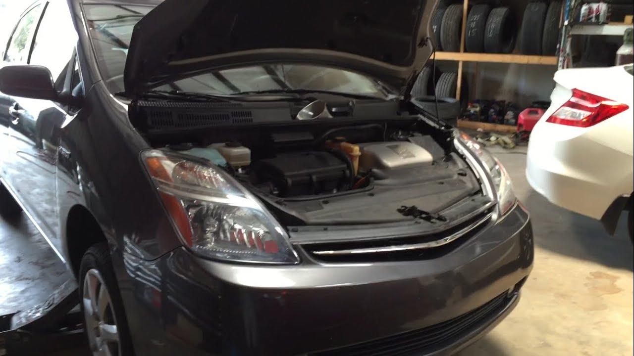 2004 2009 Toyota Prius Hybrid Oil Change Diy