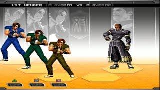 [PS2] KOF 2002 Unlimited Match - Kyo Cloned Team (TAS)