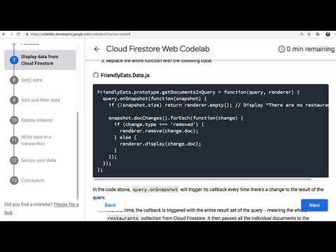 006 - Display data from Cloud Firestore - YouTube
