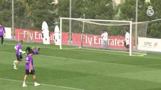 Nothing can get past Keylor Navas!