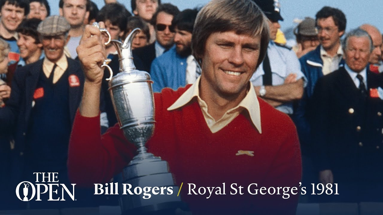 Bill Rogers wins at Royal St George's | The Open Official Film 1981