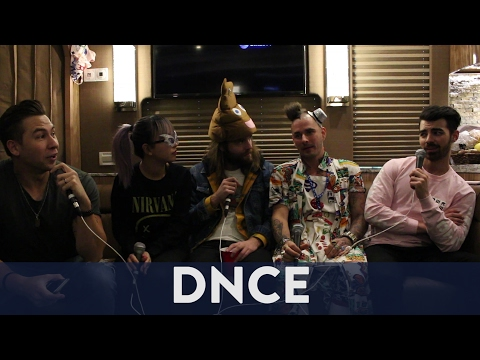 Inside DNCE's Tour Bus!