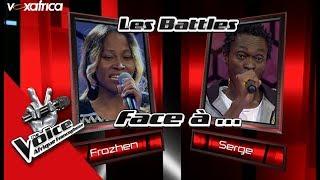 Serge vs Frozhen ' Nkere ' de Pierre Akendengue Les Battles   The Voice Afrique Francophone 2017