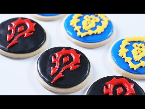 Make HOW TO MAKE WARCRAFT COOKIES - NERDY NUMMIES Images