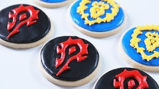 HOW TO MAKE WARCRAFT COOKIES - NERDY NUMMIES