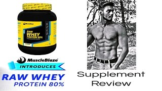 Muscleblaze Raw Whey Protein(Unflavored) | Unboxing & Review