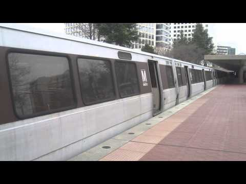 DC Metro (WMATA): Shady Grove bound Red line train at White Flint