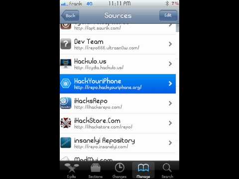 Cydia hack your iphone