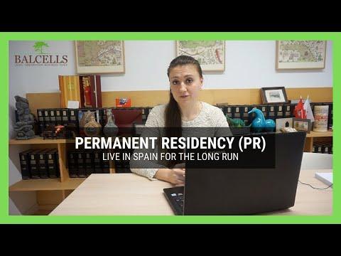 Permanent Residency in Spain   How to get PR