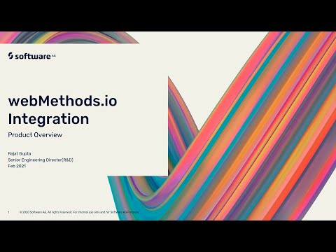 webMethods.io Integration Product Overview | Software AG