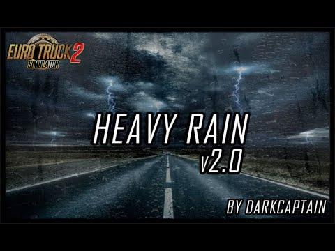 ETS2 MOD: Heavy Rain