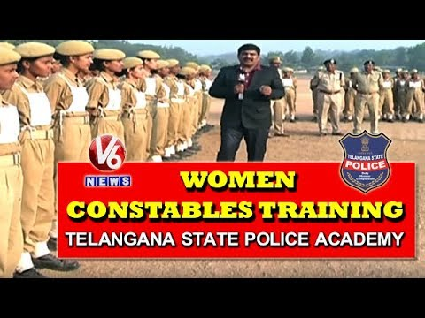 Ground Report On Women Constables Training At Telangana State Police Academy | V6 News