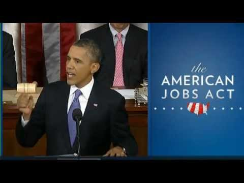 Obama's Jobs Speech To Congress- Full Video