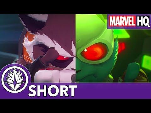 Rocket Enters a Space Race! | Marvel's Rocket & Groot | Episode 4