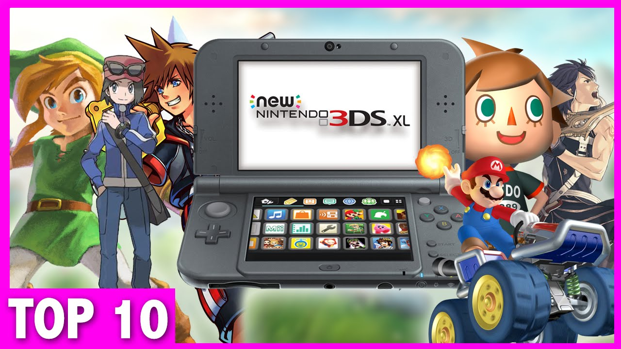 Top 10 Must Own 3ds Games Exclusives Youtube