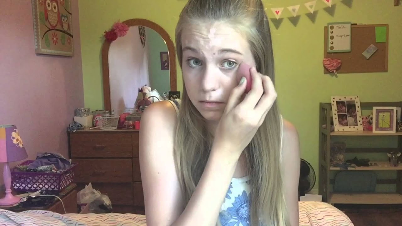 My 6th 7th And 8th Grade Makeup Routine Youtube