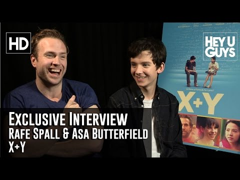 Rafe Spall and Asa Butterfield Exclusive   XY