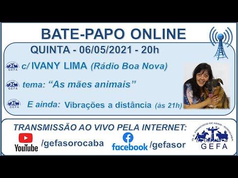 Assista: Palestra online - c/ IVANY LIMA (06/05/2021)