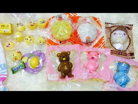 Squishy Silly : Squishy Package from Silly Squishies - YouTube
