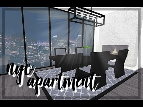 Roblox Bloxburg Modern Nyc Apartment Youtube